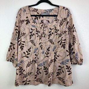 croft & barrow | Pullover Blouse w/ Floral